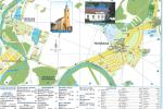 Máriakálnok község térképe