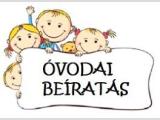 MEGVÁLTOZOTT AZ ÓVODAI BEIRATÁS!!